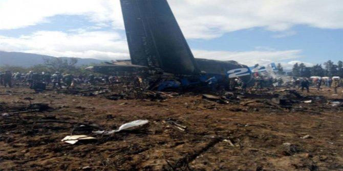 Son dakika! Cezayir'de düşen uçakta 257 kişi öldü