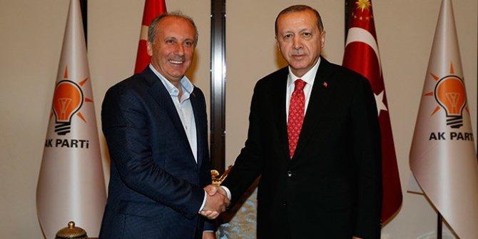 Son dakika! Erdoğan ve Muharrem İnce görüşmesi sona erdi