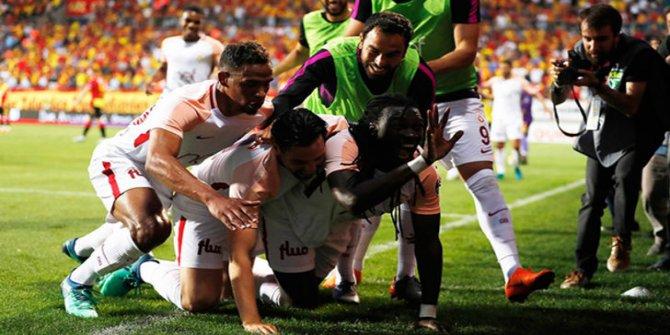 Göztepe 0 - 1 Galatasaray (Spor Toto Süper Lig'de 2017/18 sezonu şampiyonu Galatasaray)