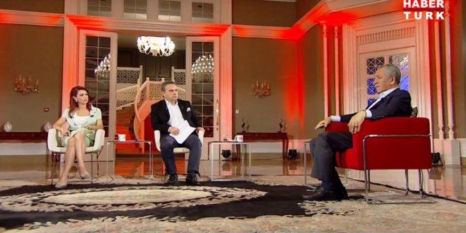 Bülent Arınç'tan Habertürk TV'de FETÖ eleştirilerine yanıt: Yerine girmiş zaten, bir yere koymaya gerek yok