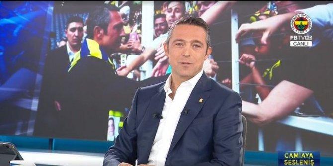 Ali Koç Fenerbahçe'nin borcunu ve hibe ettiği tutarı açıkladı