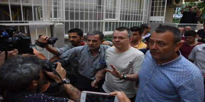 ABD'den flaş Brunson açıklaması: Bu hafta Türk yetkililerle konuşacağız