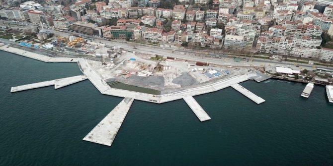 İddia: Kabataş'a 'beton martı' projesi iptal, peyzaj çalışmasıyla meydan açılacak
