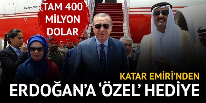Katar Şeyhi'nden Cumhurbaşkanı Erdoğan'a büyük jest