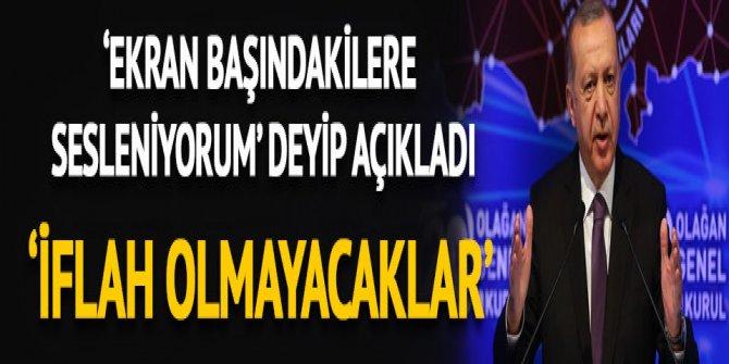 Cumhurbaşkanı Erdoğan'dan çok sert 'zam' mesajı!