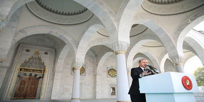 Almanya Türk toplumundan Erdoğan'a eleştiri: Cami açılışı arkada kaos bıraktı