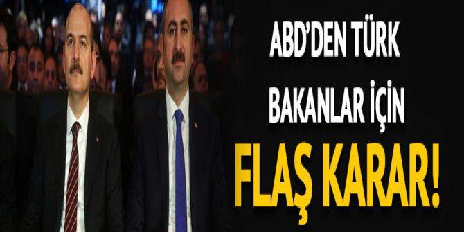 ABD'den Türkiye'ye yaptırım açıklaması: Kaldırıldı