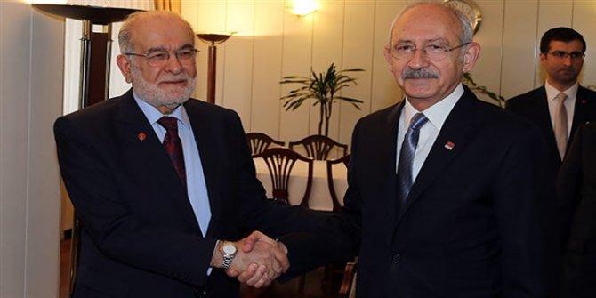CHP-Saadet Partisi görüşmesi sona erdi