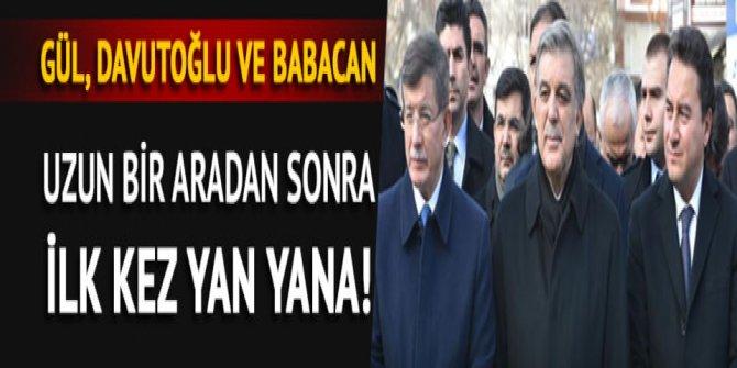Abdullah Gül, Ahmet Davutoğlu ve Ali Babacan cenaze törenine katıldı