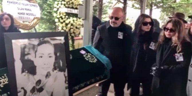En acı veda! Hande Erçel'in annesi son yolculuğuna uğurlandı