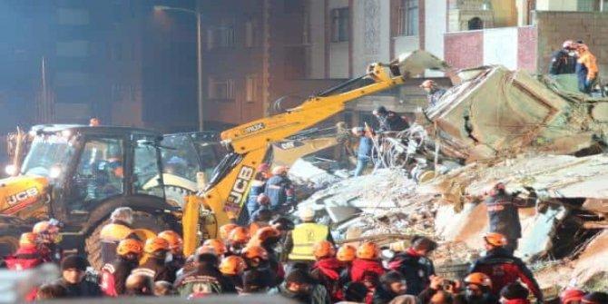 Kartal'da çöken binada ölü sayısı altıya çıktı