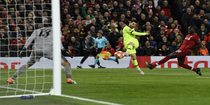 Liverpool Lionel Messi'ye nefes aldırmadı