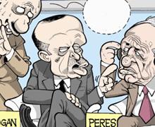 Davos çıkışı mizah dergilerinde