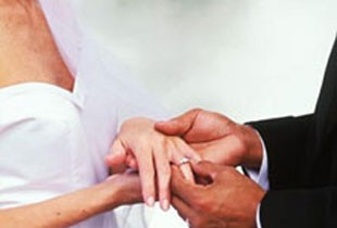 İlk nikah kıyıldı!