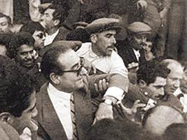 Bağış'ın Menderes fotoğrafı