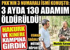 PKK'nın 3 Numarası Konuştu!