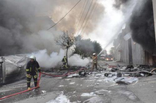 İzmir'de patlama: 2 ölü,4 kişi kayıp