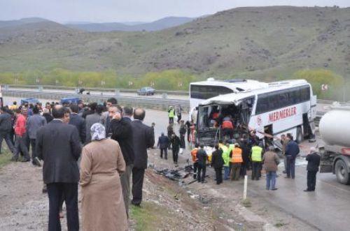Kırıkkale-Ankara karayolunda kaza