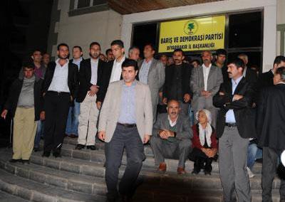 BDP lideri Demirtaş'ın tepkisi