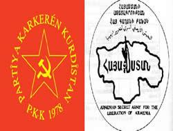 Asala ile PKK arasında bağ var