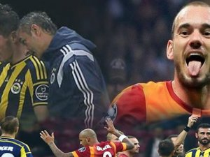 Derbinin kazananı Galatasaray oldu