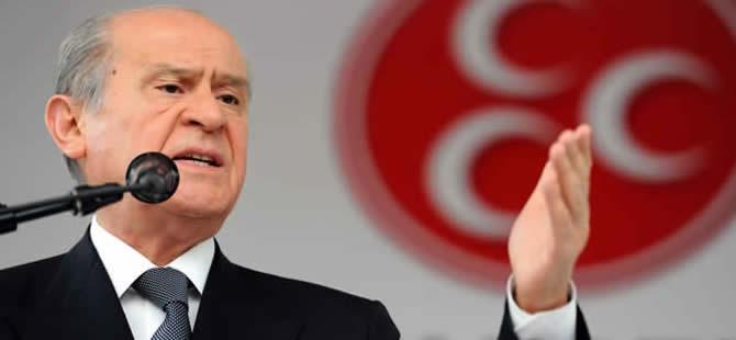 Bahçeli 'Erdoğan' sözünü tutamadı!