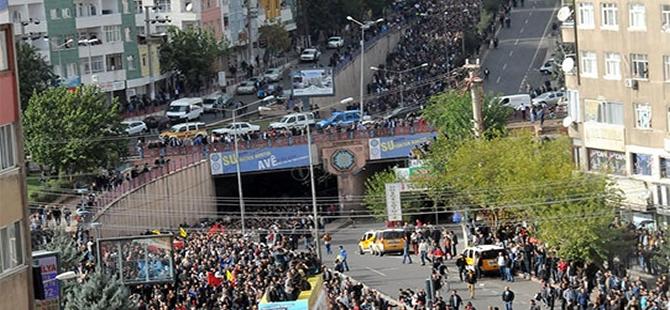 Kobani'ye destek mitingi