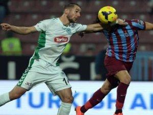 Konyaspor, Trabzonspor'a yenildi