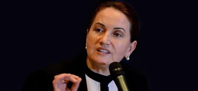 Akşener: Başbakan delikanlıysa... 'Öcalan teröristtir' desin!