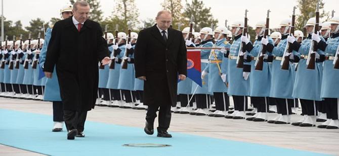 Saray'ın ikinci ziyaretçisi Papa'dan sonra Putin