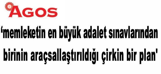 Agos Gazetesi'nin, Dink cinayetiyle ilgili manşeti