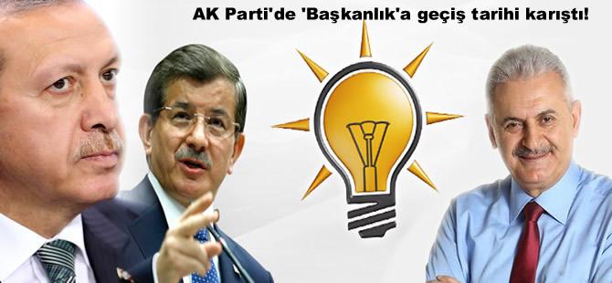 AK Parti'de 'Başkanlık'a geçiş tarihi karıştı!