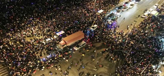 Şanghay'da izdiham: 35 ölü