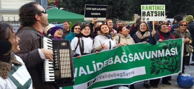 Yırca'dan Bozcaada'ya binlerce kişi, doğa için Kadıköy'de toplandı