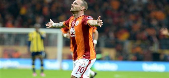 Sneijder ve sürpriz Galatasaray iddiası