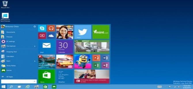 Windows 10: Yeni Nesil Windows görücüye çıktı!