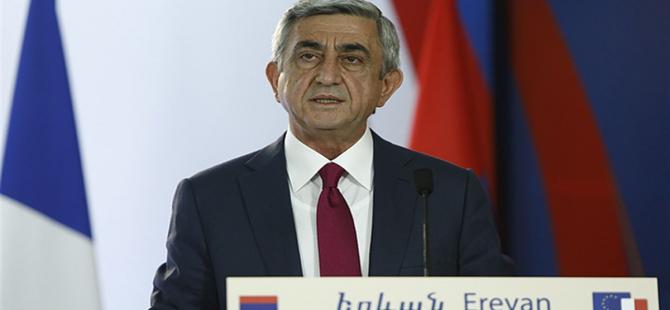 Sarkisyan'dan Türkiye açıklaması