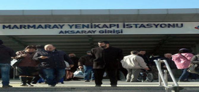 Marmaray'da bomba alarmı!