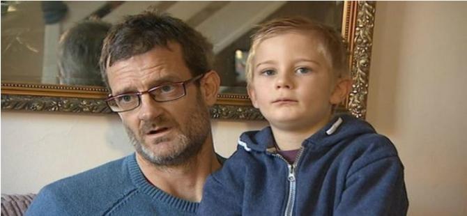 Beş yaşında çocuğa fatura kesildi