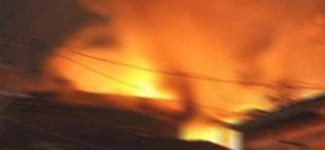 Tekstil atölyesinde yangın: 1 işçi öldü