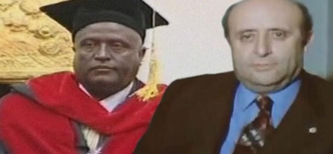 Erdoğan'ın katıldığı törende Afrikalı Demirel!