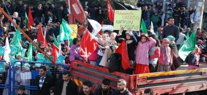Diyarbakır'da 100 bin kişilik miting!