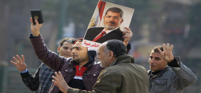 Mısır'da ayaklanmaların yıl dönümünde gösteriler