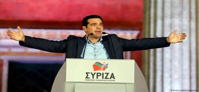 Syriza lideri Aleksis Tsipras'ın ilk açıklaması