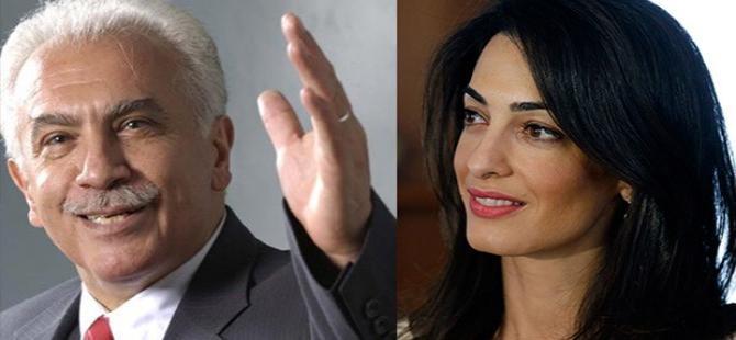 Doğu Perinçek,  Amal Clooney'e karşı