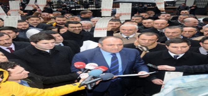"""MHP'den """"yüksek elektrik faturası"""" eylemi"""