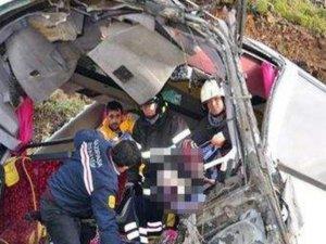 Trafik kazası 5 kişi öldü