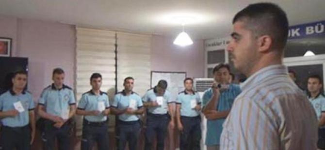 Polislerin sıraya dizilmesi davasında karar çıktı