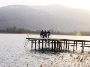 Sapanca Gölü'nde su seviyesi 1,5 metre yükseldi