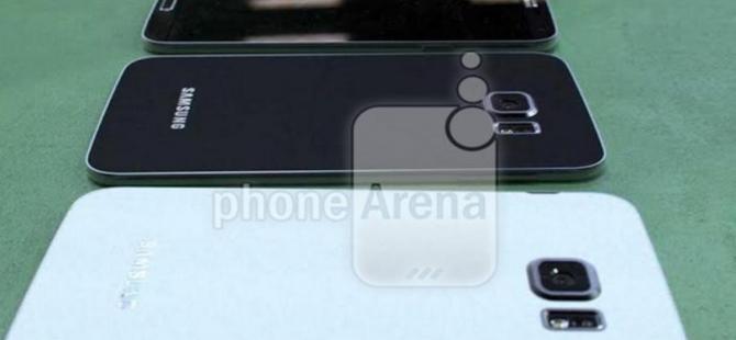 Galaxy S6'dan üç yeni kare